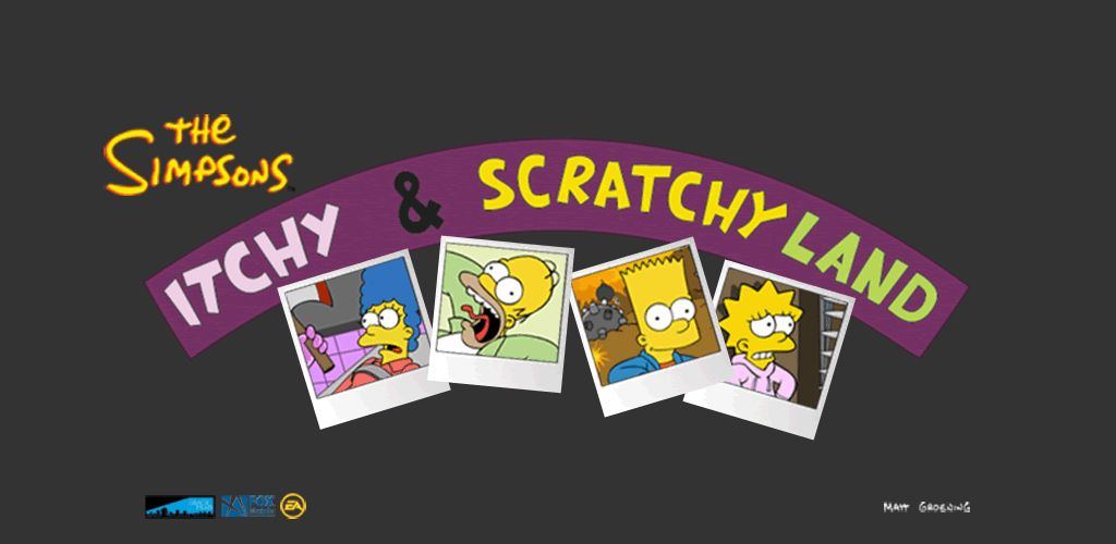 The Simpsons Itchy &...